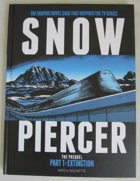 Snow Piercer: The Prequel Part 1: Extinction Hardcover Book Graphic Novel NEW