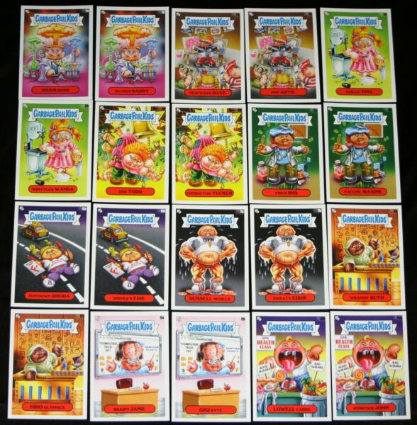 2020 GARBAGE PAIL KIDS LATE TO SCHOOL CLASS FACULTY LOUNGE 20 CARD SET ADAM BOMB
