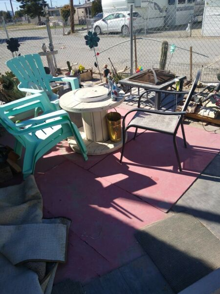 Old Used Outdoor Patio Furniture $105.00