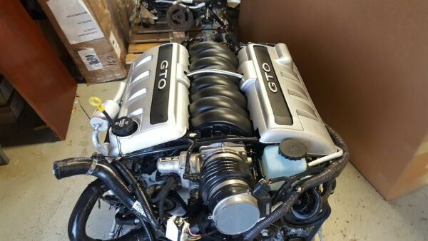 06 GTO LS2 Engine with Manual T56 Six Speed Transmission 400 Hp 61k Miles