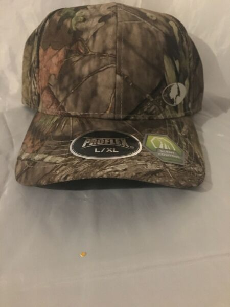 MOSSY OAK PROFLEX MULTI COLOR GREEN CAMO L XL HUNTING FISHING BASEBALL CAP HAT