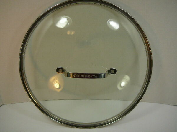 Cuisinart Stainless handle Lid 11.5quot;