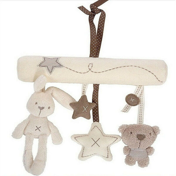 Baby Musical Rattle Animal Plush Toy Stroller Mobile Bed Cart Newborn 0 12Months $11.00