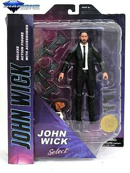Diamond Select Toys John Wick Select Deluxe Action Figure New In Stock