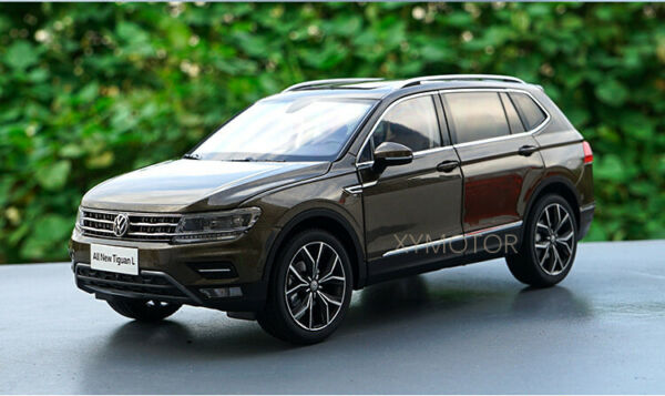 1 18 VW Volkswagen Tiguan L Diecast Metal SUV CAR MODEL Toys Kids gifts Brown $89.23