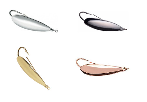 Johnson Silver Minnow Spoon Choice of Sizes and Colors