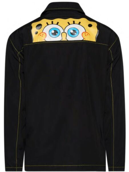 Timberland SpongeBob Coach Exclusive Jacket Black Sz SML $130 $69.97