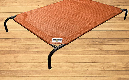 The Original Elevated Pet Bed by Coolaroo Small Terracotta $32.43