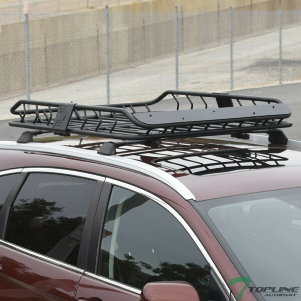Topline For Honda Modular Roof Rack Basket Storage Carrier Fairing Matte Black $215.00
