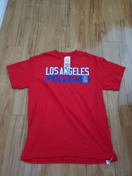 Brand New - Los Angeles Clippers Chris Paul Majestic NBA Men Player Red T-Shirt