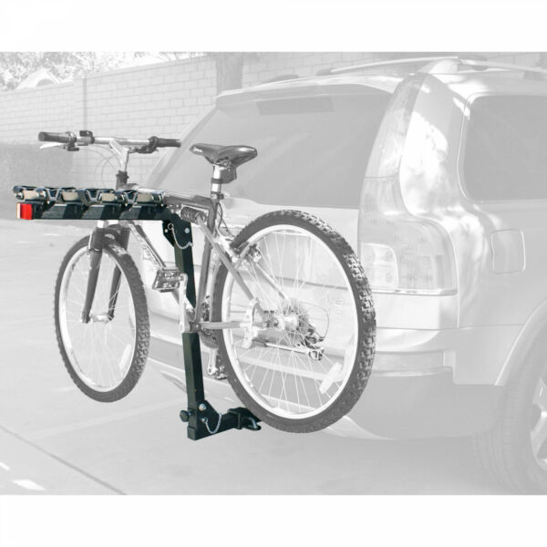 4 Bike Hitch Mount Bicycle Rack Trailer Car Vehicle Auto SUV Foldable Transport $156.69