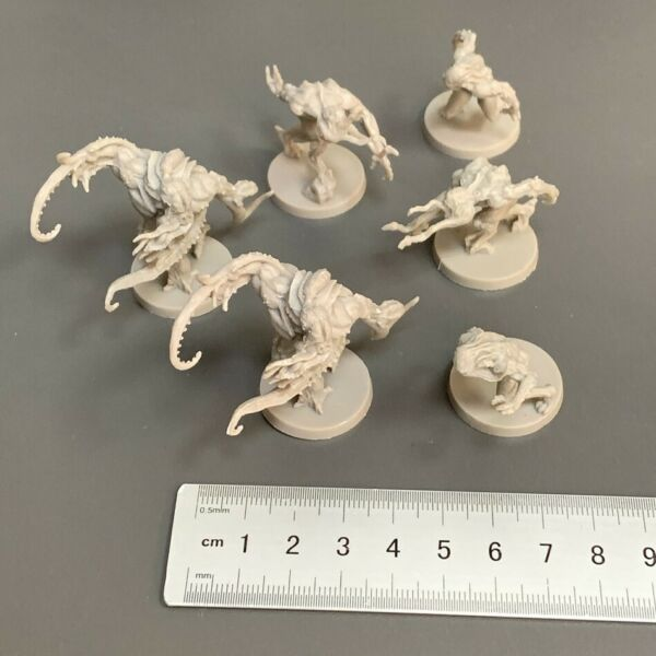 6 MONSTER For Dungeons amp; Dragon Miniatures Board Game figure $9.99