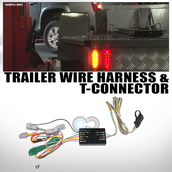 Fits 10 Hyundai Tucson Trailer Tow Hitch 4 Way Output Custom Wiring T Connector $39.95