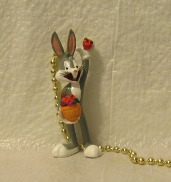 Looney Tunes Bugs Bunny Fan Pull and Chain NEW In Box 8 Inches $4.95