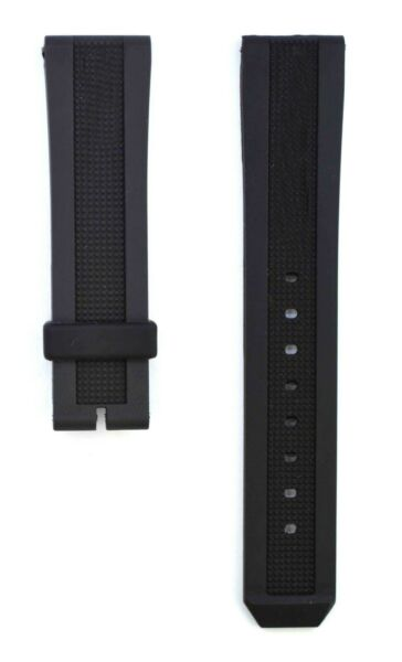 20mm Black High Quality Rubber Watch Strap Band For Burberry Sport Women BRR111 $24.99