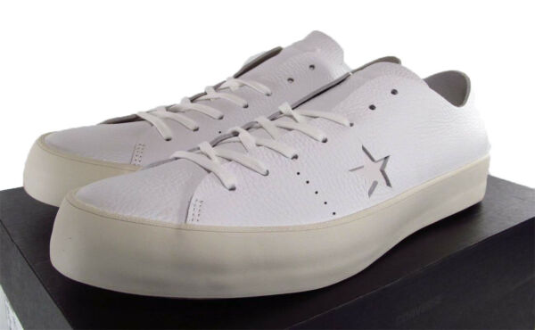 Converse One Star Ox Prime Sneaker Zoom Air Unit Insole WHITE Leather 12 MEN