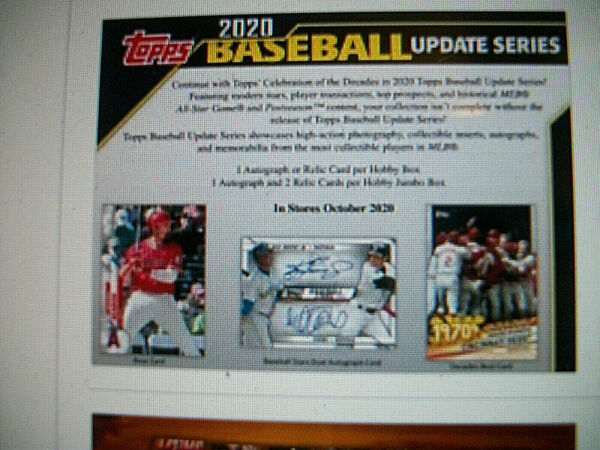 2020 TOPPS UPDATE BASEBALL TEAM SETS ALL 30 MLB TEAMS CHOOSE FROM DROPDOWN