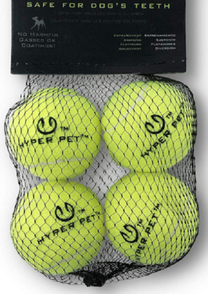 Dogs Tennis BallsPet Safe Dog Toys For Exercise mini size (4 PCS) $8.99