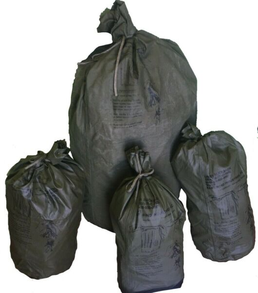 OD ALICE Field Pack Liners 1 Large 3 Small Military Issue