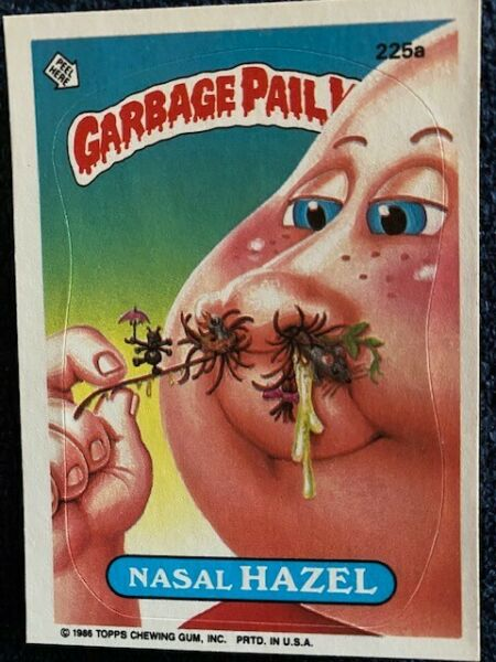 VINTAGE 1986 GARBAGE PAIL KIDS 6th SERIES 44 CARDS AND PACKAGE (Cards # listed)