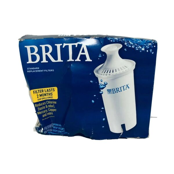 Brita Filter 3 Pack Standard Replacement Filters New A96