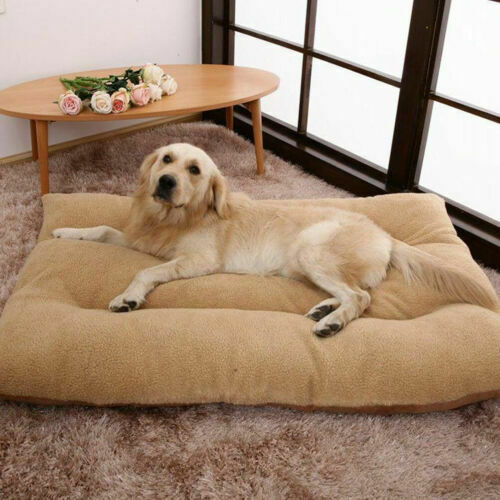 Extra Large Dog Bed Ultra Soft Foam Orthopedic Durable Jumbo Winter Warm Mattres $25.94