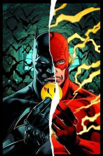 Batman The Flash The Button Deluxe Edition International Ve by Tom King Englis
