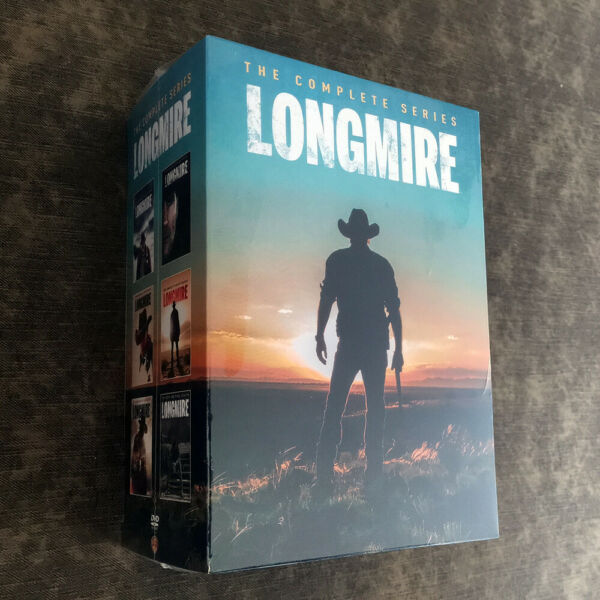Longmire The Complete Series 15 DISC DVD Fast shipping Priority Mail