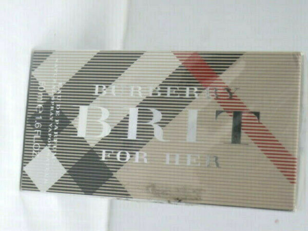 BURBERRY BRIT BY BURBERRY PERFUME SPRAY EDP 50 ML 1.6 OZ SEALED NEW IN BOX $50.30