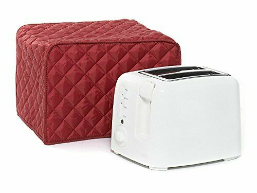 Toaster Dust Cover,Liangxiang Kitchen Toaster Cover Appliance 2 Slice 11W x Red