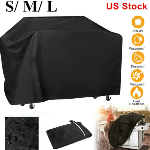 Waterproof Protection BBQ Grill Cover Gas Barbecue Outdoor Patio Covers S M L $17.99