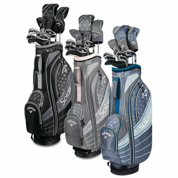 Callaway Womens Solaire Ladies Complete Golf Club set 11 piece Full set w Bag