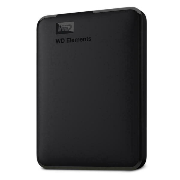 WD Elements Portable 2TB Manufacturer Refurbished Hard Drive by Western Digital