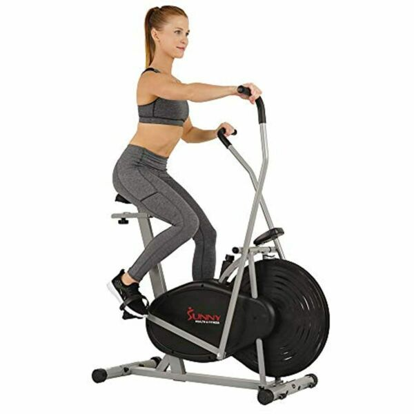 Sunny Air Resistance Hybrid Arms Legs Cardio Exercise Bike Indoor Exercise New $167.98