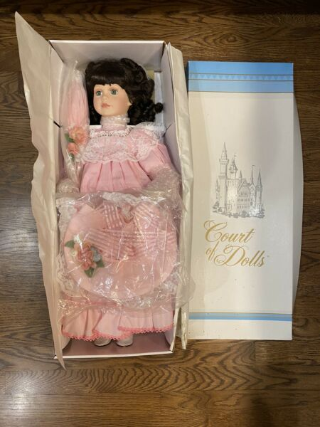 Court Of Dolls Porcelain Doll Jillian 25