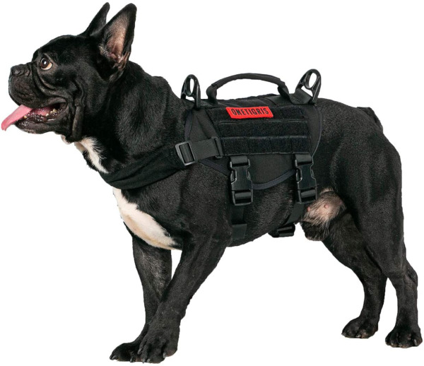 Tactical Vest Dog Small Training Harness No Pull Adjustable Military Vest $34.99