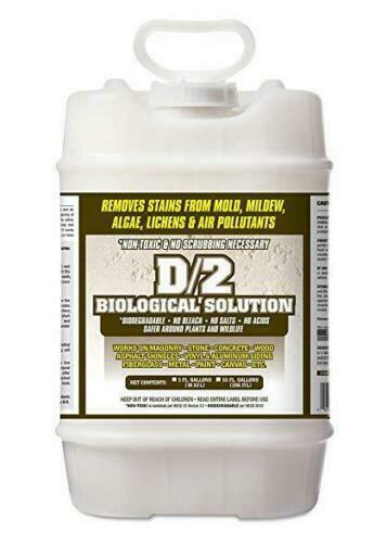 D2 Biological Cleaning Solution - 5 Gallon Pail - New Free Shipping