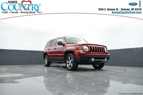 2017 Jeep Patriot High Altitude 2017 Jeep Patriot High Altitude Deep Cherry Red Crystal Pearlcoat 4D Sport Utili