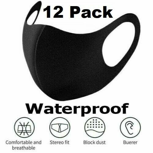 12 PCS - Reusable Mask Washable Face Cover Mouth Protective [SHIP NOW] $12.93