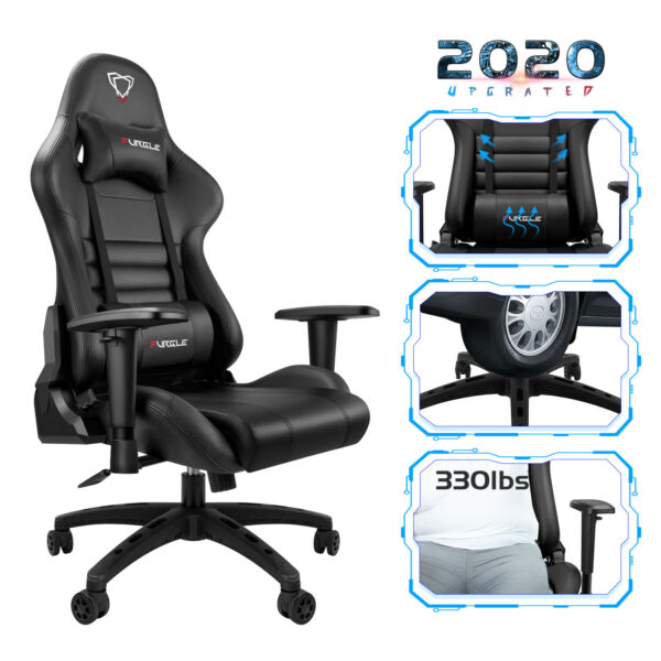 Ergonomic Gaming Chair Racing Computer Office Chair Recliner High Back US Stock