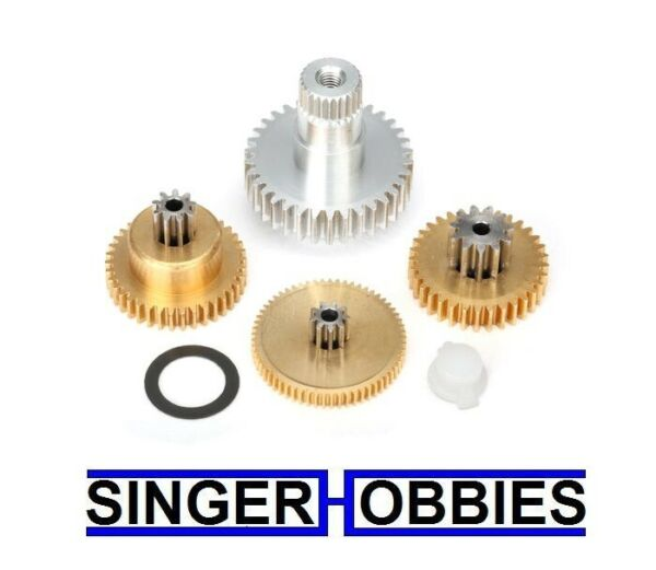 Traxxas 2087x Gear set metal for 2085 2085X servos NEW IN PACKAGE TRA2087x TRA1 $30.00