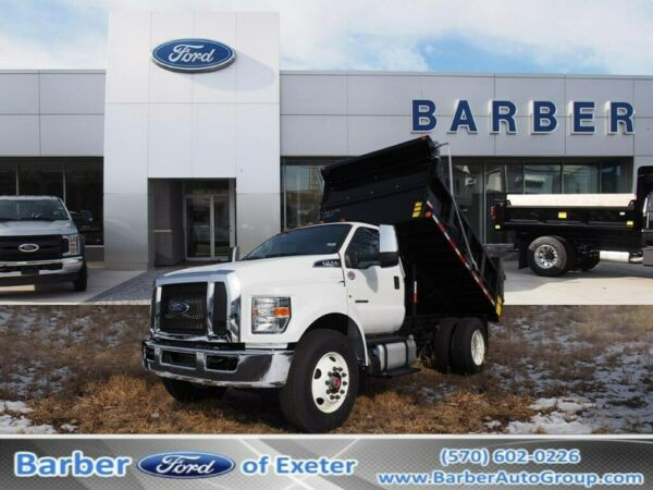 2019 Ford Other Pickups  2019 Ford F-750  22 Miles Oxford White Dump Body 8 Ford 6-Speed TorqShift HD Aut