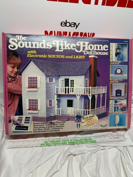 Vintage 1982 Craft Master The Sounds Like Home  Doll House NEW RARE