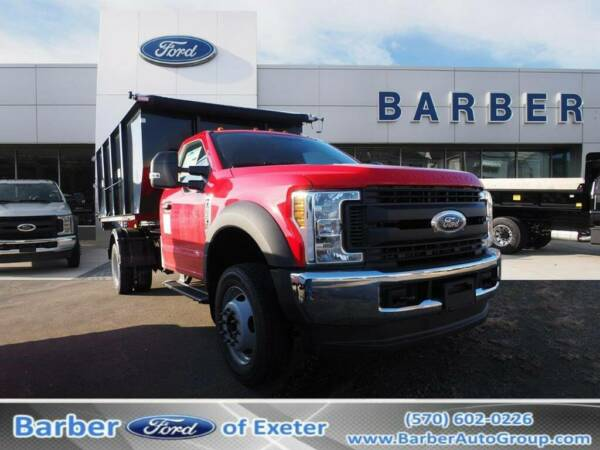 2019 Ford F-550 F-550 XL 42 Miles Red Hooklift Body 10