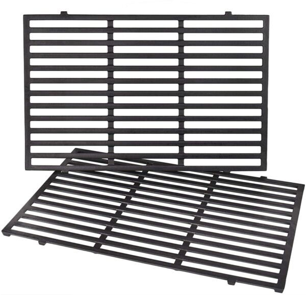 Cast Iron Grill Grates Weber Genesis 300 Series 310 2 Pack New