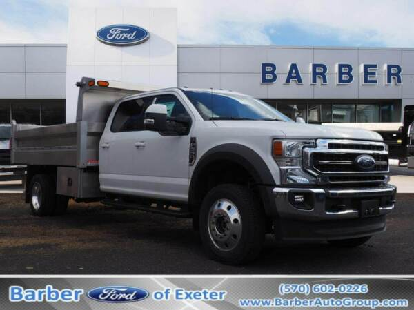 2020 Ford F-550 F-550 Lariat 2020 Ford F-550 F-550 Lariat 195 Miles Oxford White Dump Body 8