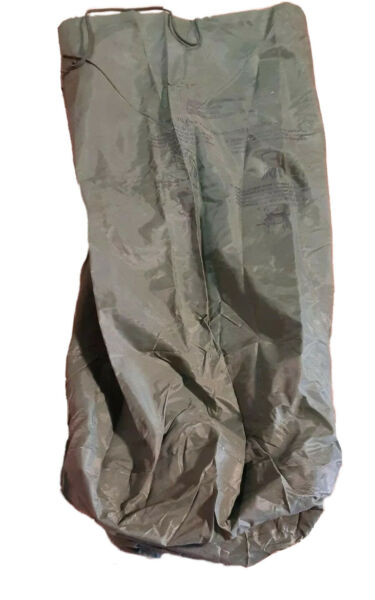 "TWO Military Waterproof Dry Bags 16"" Dia. x 30quot; H Rubber Lining NEW Olive Drab"