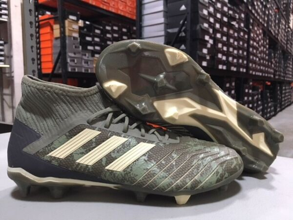 Adidas Men's Predator 19.2 FG Soccer Cleats (Legacy Green/Sand) Size: 7 NEW!
