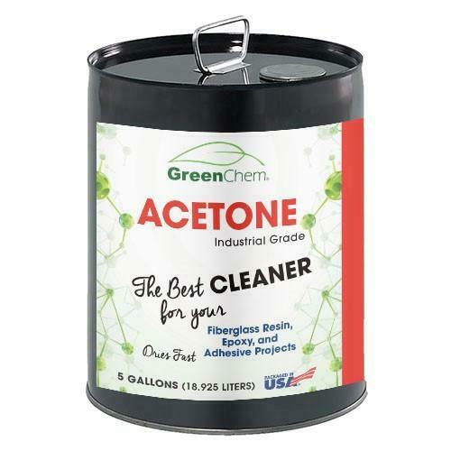 Acetone 99.65%  Fast Drying Solvent for Thinner and Cleaner  5 Gallon Pail