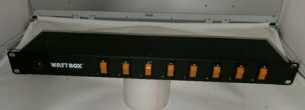 Wattbox Indidually Switched On Off Rack Mount Power Strip MSSL1148 $99.00